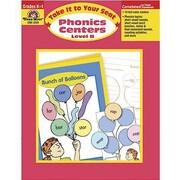Evan-Moor® Take It To Your Seat Phonics Centers Teacher Resource Book, Grades Kindergarten - 1st