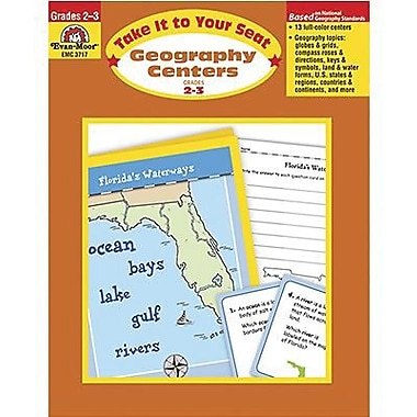 Evan-Moor® Take It To Your Seat Geography Centers Book, Grades 2nd - 3rd