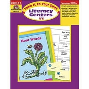 Evan-Moor® Take It To Your Seat Literacy Centers Teacher Resource Book, Grades 4th - 6th