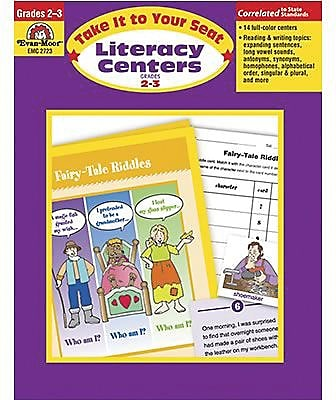 Evan-Moor® Take It To Your Seat Literacy Centers, GR: 2-3
