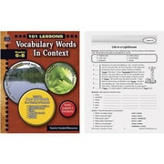 Teacher Created Resources® Vocabulary Words In Context Book, Grades 6th - 8th