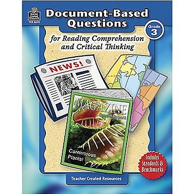 Teacher Created Resources® Document-Based Questions Book, Grades 3rd