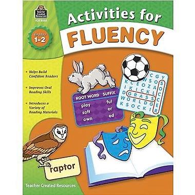 Teacher Created Resources Fluency Activities Book, Grade 1 - 2 (TCR8050)