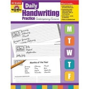Evan-Moor® Daily Contemporary Cursive Handwriting Practice Book
