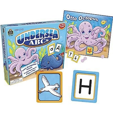 Teacher Created Resources® Undersea ABC's Game, Grades Pre School-Kindergarten