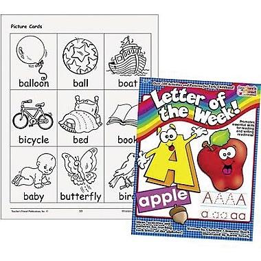 Teacher's Friend® Letter of The Week Book, Grades Pre Kindergarten - 1st