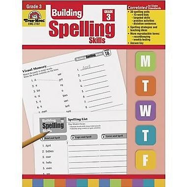 Evan-Moor Spelling Skills Book, Grade 3 (EMC2707)