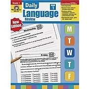 Grammar Skills, Evan-Moor® Daily Language Review Grade 1