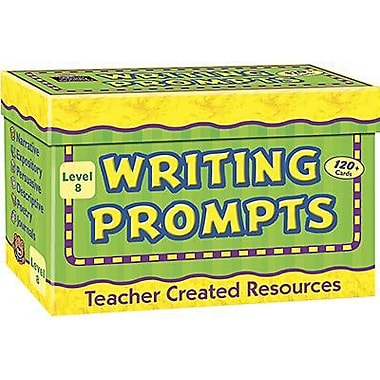 Teacher Created Resources® Writing Prompt Card, Grades 8th