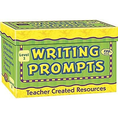 Teacher Created Resources Writing Prompt Card, Grade 2 (TCR9002)