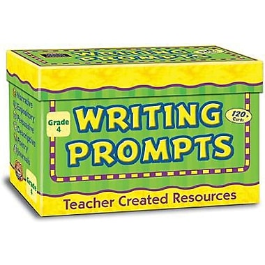 Teacher Created Resources Writing Prompt Card, Grade 4 (TCR9004)
