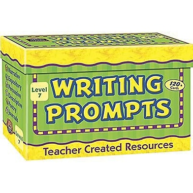 Teacher Created Resources Writing Prompt Card, Grade 7 (TCR9007)