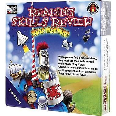 Edupress Reading Skills Review - Time Machine Game, Blue Level, Grade 3 - 5 (LRN1051)
