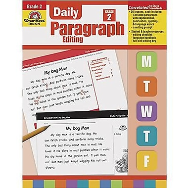 Evan-Moor Daily Paragraph Editing Book