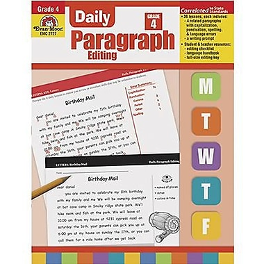 Evan-Moor Daily Paragraph Editing Book, Grade 4 (EMC2727)