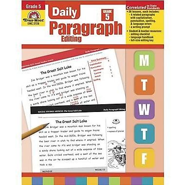 Evan-Moor® Daily Paragraph Editing Book, Grades 5th