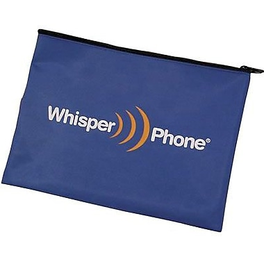 Harebrain Whisperphone Deluxe Storage Pouch, 12/Pack (HB-DSP12)