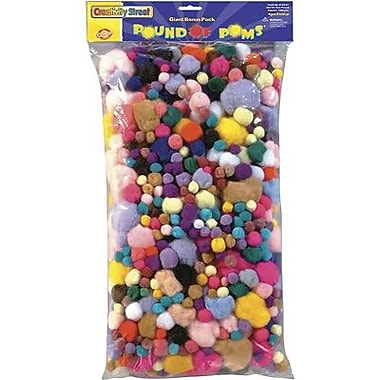 Chenille Craft® Pom Pons, 1 lbs.