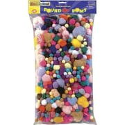 Pompons Chenille CraftMD, 1 lb
