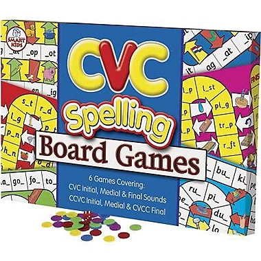 Didax® CVC Spelling Board Game, Grades Kindergarten - 2nd