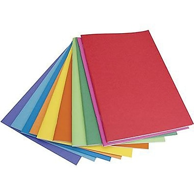 Hygloss Rainbow Brights™ Blank Book, White, 20/Pack