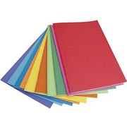 Hygloss Rainbow Brights Blank Book, White, 20/Pack