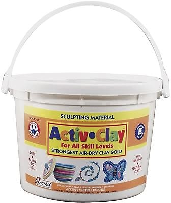 Activa® Activ-Clay® White Modeling Compound, 9.9 lbs.