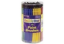 Chenille Kraft Economy Brushes in Canister, 144/Pack (CK-5173)