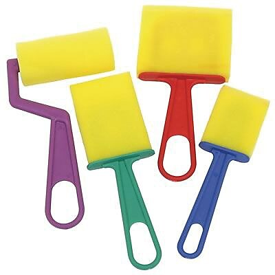 Chenille Kraft Foam Brush in Classroom Pack, 40/Pack (CK-5212)