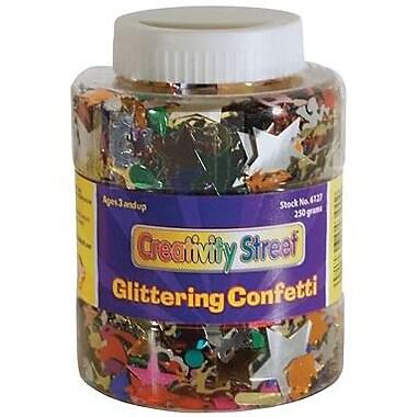 Chenille Craft® Assorted Glittering Confetti Jar, 8.8 Oz.