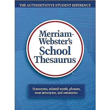 Merriam-Webster® School Thesaurus