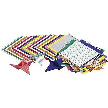 Roylco - Papier de bricolage pour origami économe 6 x 6 po, 216/paquet (R-15204)