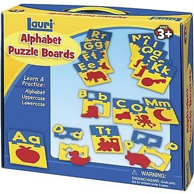 Patch Products Lauri Toys Alphabet Puzzle Board, Grade Pre Kindergarten - 3 (LR-2330)