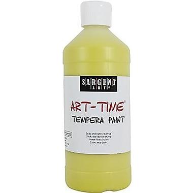 Sargent Art Art-Time Non-Toxic 16 oz. Tempera Paint, Yellow (22-6402)