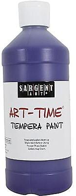 Sargent Art Art-Time Non-Toxic 16 oz. Tempera Paint, Violet (22-6442)