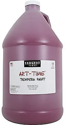 Sargent Art Art-Time Non-toxic 128 oz. Liquid Tempera Paint, Magenta (SAR226638)
