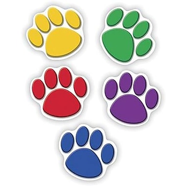 Teacher Created Resources® Grades Toddler - 12th Accents, Colorful Paw Prints