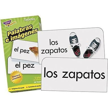 Trend Enterprises Skill Drill Flash Card, Spanish (T-53006)