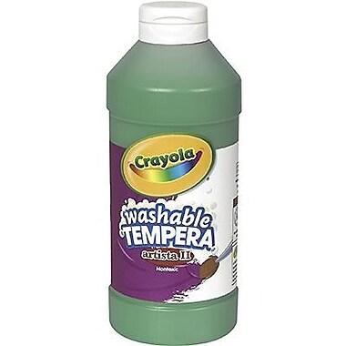 Crayola Artista Ll Non-toxic 16 Oz. Tempera Paint, Green (bin311544)