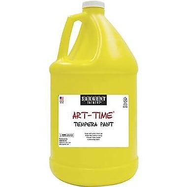Sargent Art Art-Time Non-toxic 128 oz. Washable Tempera Paint, Yellow (SAR223602)