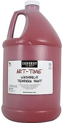 Sargent Art® Art-Time® Gallon Washable Tempera Paints, Red