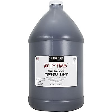 Sargent Art Art-Time Non-toxic 128 oz. Washable Tempera Paint (SAR2236)