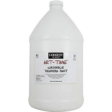 Sargent Art Art-Time 128 oz. Washable Tempera Paint, White (SAR173696)