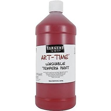 Sargent Art® Art-Time® 32 oz. Washable Tempera Paint, Red