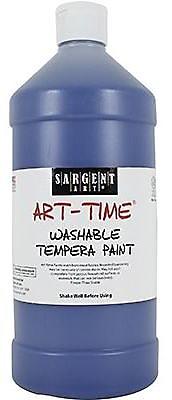 Sargent Art® Art-Time® 32 oz. Washable Tempera Paint, Blue