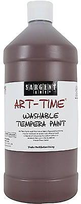 Sargent Art® Art-Time® 32 oz. Washable Tempera Paint, Brown
