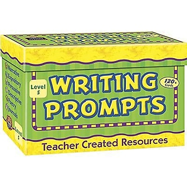 Teacher Created Resources Writing Prompt Card, Grade 5 (TCR9005)