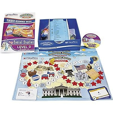 New Path Learning® Mastering Social Studies Skills Games Classpack, Grades 4th