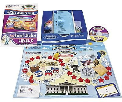 New Path Learning® Mastering Social Studies Skills Games Classpack, Grades 4th
