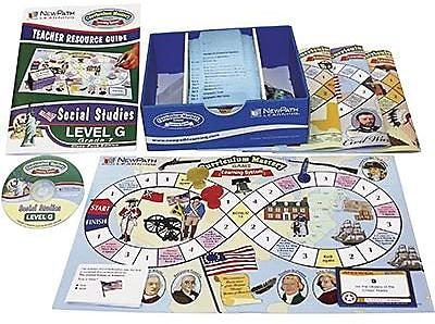 New Path Learning® Mastering Social Studies Skills Games Classpack, Grades 7th